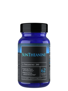 Suntheanine Veggie Capsules (200mg - 62ct.)